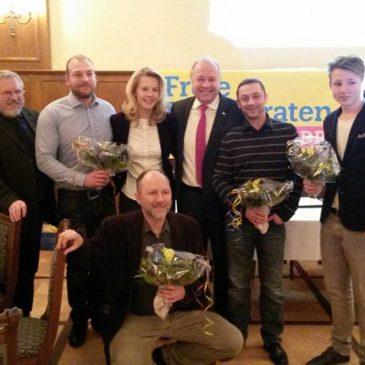 Kreisparteitag 2015 – Fünf Neuaufnahmen