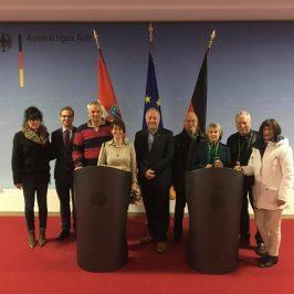 FDP Teltow zu Gast im Auswärtigen Amt
