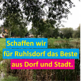 Thema September: Ruhlsdorf